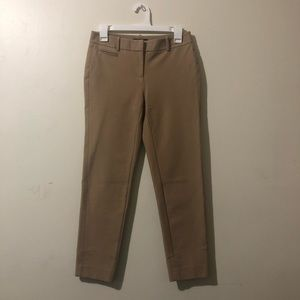 WHBM Khaki Skinny Dress Pants